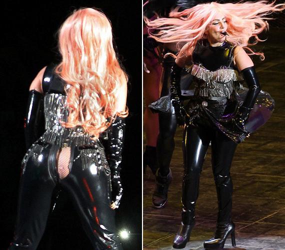 Lady Gaga is meglepődött, amikor a fellépőruhája szétrepedt rajta előadás közben.