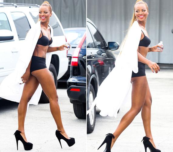 A Topmodell leszek egykori győztese, Eva az, aki féltékennyé tette a 43 éves popdívát.
