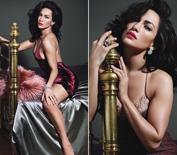 Legtöbbször a fotózásokon senki sem lovagolja meg Jennifer Lopez származását, a W magazin mégis azt kérte, latin asszonyt alakítson, aminek ő szívesen tett eleget.