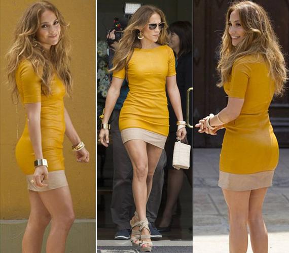 Jennifer Lopez ebben népszerűsítette Peruban a ¡Q'Viva! The Chosen címet viselő saját showműsorát.