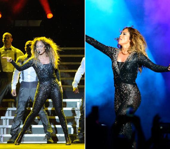 Akár egy igazi vadmacska! Jennifer Lopez 43 évesen is rendkívül jó kondiban van.