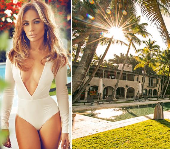 A Miami Beach-en épült mediterrán villának 60 méternyi saját tengerpartja van, ráadásul egy nagyobbacska kikötő is tartozik hozzá. A házban nyolc fürdőszoba és három mosdó található.