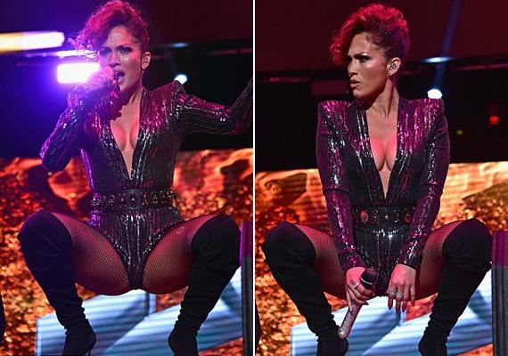 Habár az énekesnő már 46 éves, a szexi táncmozdulatoktól sem riad vissza, szereti kihangsúlyozni nőiességét a színpadon.
