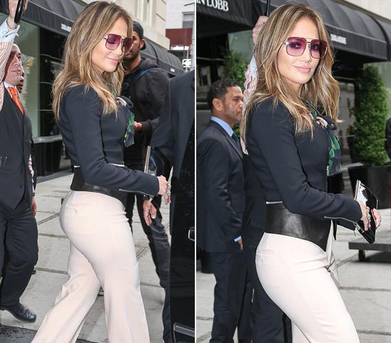 Jennifer Lopez fenekét sokan megirigyelhetnék gömbölydedsége miatt.