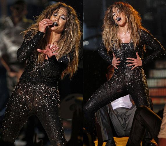 Jennifer Lopez csillogó ruhája az összes férfi szempárt magára vonzotta Kuala Lumpurban.