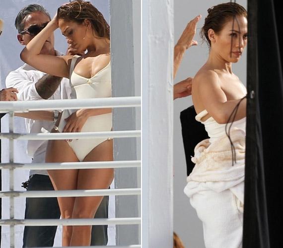Jennifer Lopezt a világhírű divatfotós, Mario Testino fényképezte, ám a paparazzók gyorsabbak voltak: a popdíváról ezen a fotózáson készült képeik az elmúlt napok során bejárták a világot.