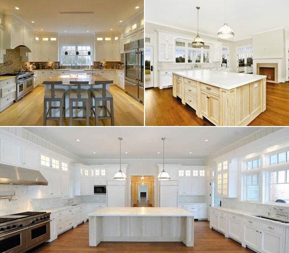 A konyha hatalmas alapterületű, abban hatalmas vendégseregre is lehet főzni.