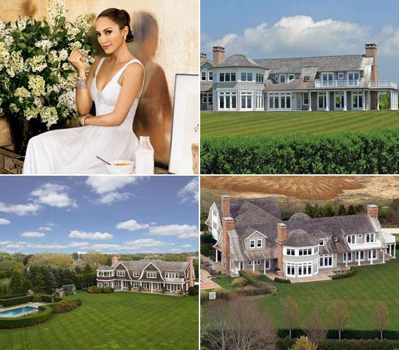 A világhírű énekesnő Hamptonsban vásárol villája 790 négyzetméter alapterületű, nyolc háló- és fürdőszoba található benne.