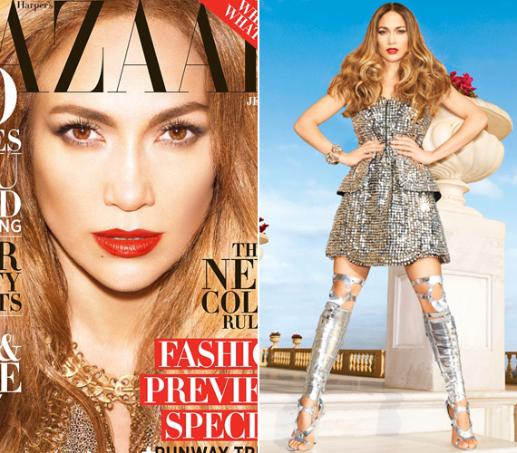 Az énekesnő ezüst Fendi ruhája több mint 2 millió forintot ér, Tom Ford csizmája pedig 870 ezret.