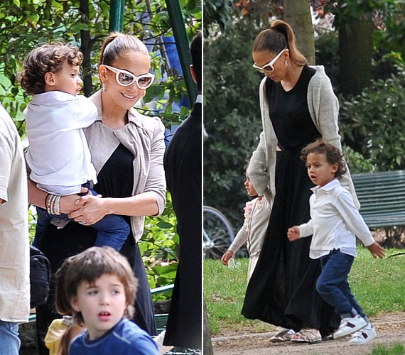 Úgy tűnik, Max nagyon anyás kisfiú, talán ezért is pendítette meg Lopez a hírt, hogy a következő évad zsűrizését már nem vállalja az American Idolban.