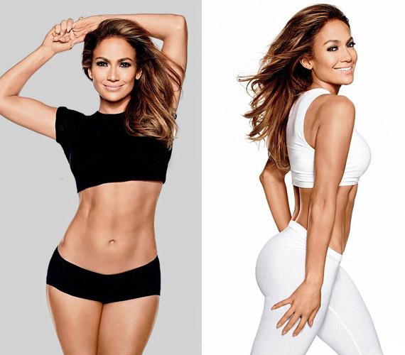 Irigylésre méltó alakja van Jennifer Lopeznek, attól függetlenül, hogy sokan támadják nagyobb feneke miatt.