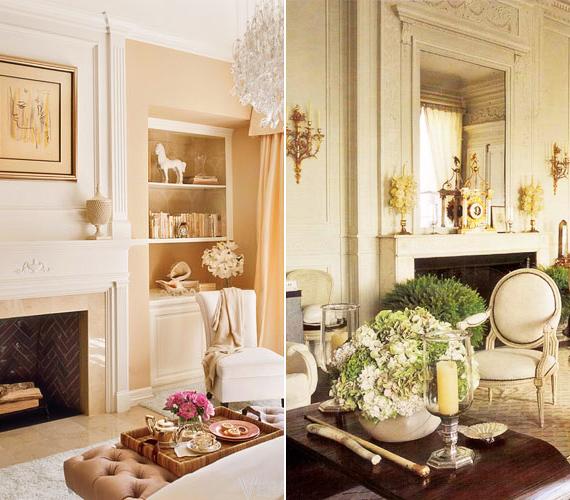 Velencei kristálycsillár, márványkandalló, kézzel készített kiegészítők, antik bútorok - a díva otthonának minden részlete luxusról árulkodik.