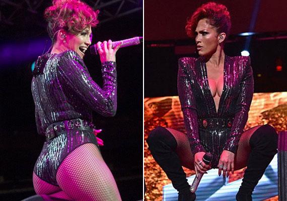 2015-ben, New Yorkban, a Madison Square Gardenben lépett fel, ahol egy csillogó, fekete fellépőruhában lépett a színpadra. A dressz azonban túl sokat mutatott: az énekesnő nemcsak formás kebleit, hanem a fenekét is közszemlére tette.