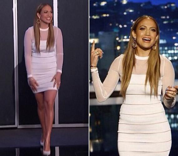 Jennifer Lopez elárulta a műsorban, hogy gyakran nincs önbizalma.