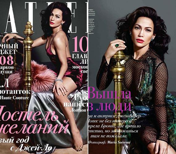 A Tatler orosz kiadásában 2013 decemberében láthatták az olvasók Jennifer Lopezt, aki nemcsak frizura és smink tekintetében idézte meg latin gyökereit, de a ruhák és beállítások is egyfajta carmenes végzetasszonya-érzést keltenek.