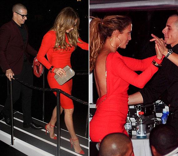 A New York-i luxushajón hajnalig buliztak: a szerelmesek alig engedték el egymás kezét.