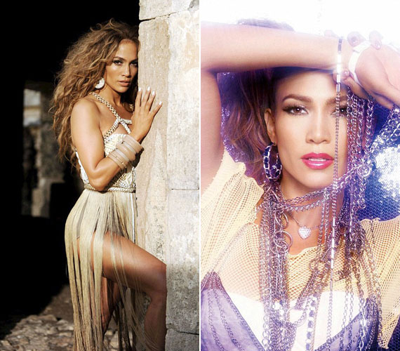 Jennifer Lopez az I'm Into You című dalához készült klipben is megmutatta nőiesen formás idomait, amelyek miatt a La Guitarra becenevet érdemelte ki.