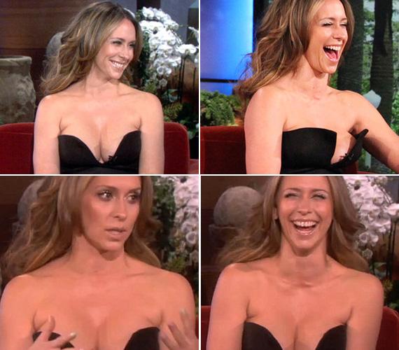 Nem csoda, hogy Jennifer Love Hewitt mély dekoltázsa láttán Matthew Perry azt mondta: talán ez lesz a kedvenc napja.