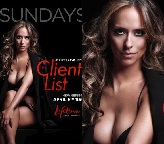 Mint azt a film plakátja is mutatja, a The Client Listben sem szégyenlősködik.
