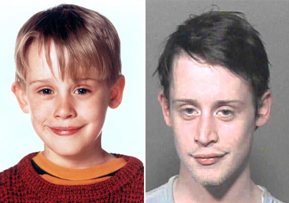 A Reszkessetek, betörők! filmek cuki szőke sztárja ma már 34 éves. 2003-ban tartóztatták le először kábítószer-birtoklás miatt, de később is állandóan bajba került. Ez egy év börtönt jelentett a számára.