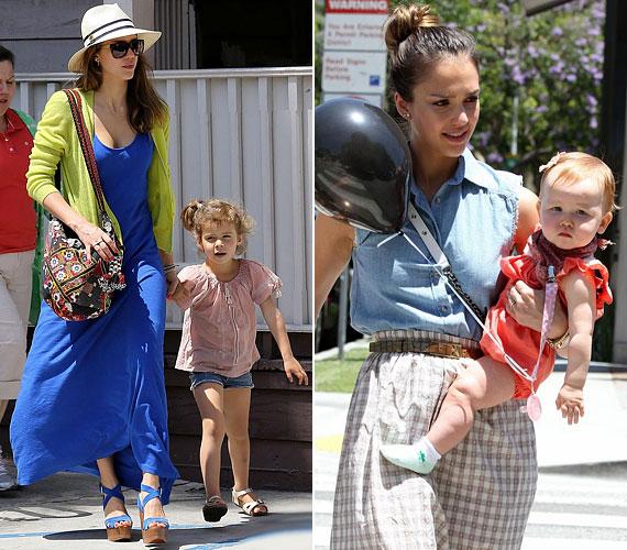 A hétköznapok során legtöbb idejét gyermekeinek szenteli: két kislány, Honor és Haven boldog anyukája.