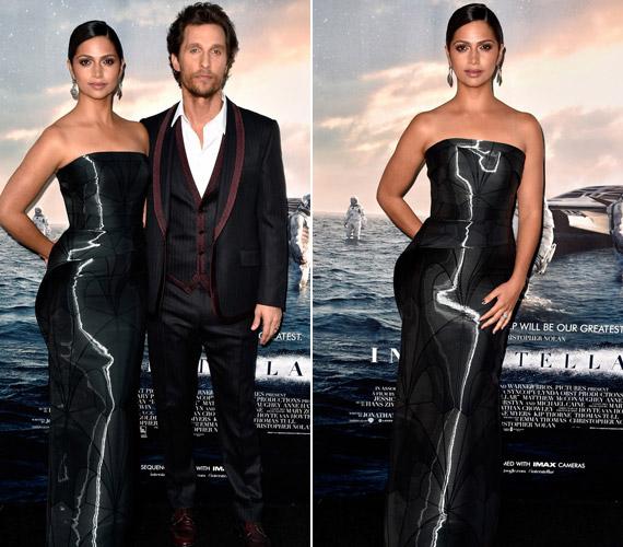 Camila Alves,Matthew McConaughey felesége is magára vonta a tekinteteket.