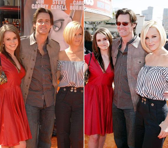 Jim Carrey 2005 decemberében lett Jenny McCarthy kedvese, akivel mintegy öt év után 2010 áprilisában szakított.