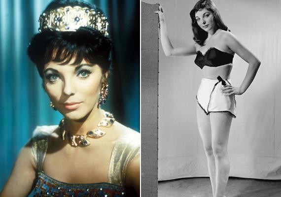 Fiatal korában is igazi szépség volt, számos fotó készült róla divatmagazinok számára.
