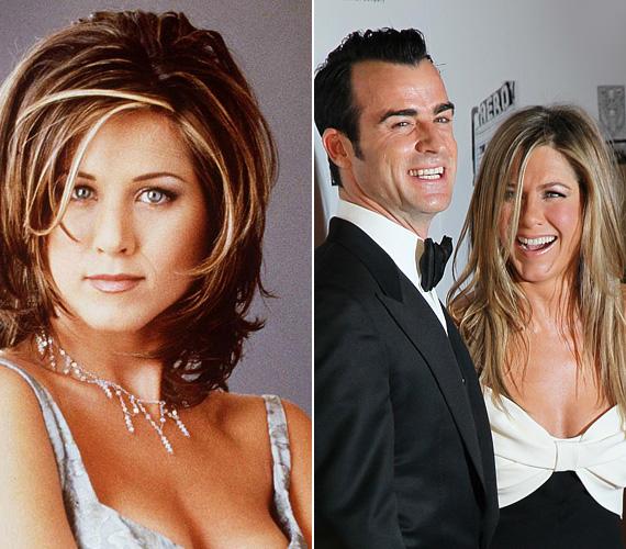 Jennifer Anistonnak is több színésszel és zenésszel volt kapcsolata, de mindenki leginkább a Brad Pitt-tel kötött házasságára emlékszik. A frigy 2000-től 2005-ig tartott, ezt követően a színésznő nem nagyon talált magához illő férfit. Mígnem 2011-ben Justin Theroux be nem toppant az életébe, akivel szép lassan egymásba szerettek, jelenleg az esküvőt tervezik, de nem sietik el. Kettejük között egyébként három év a korkülönbség, Aniston javára.
