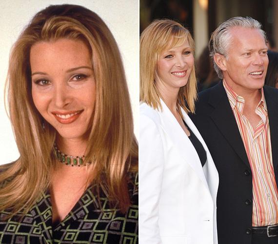 Lisa Kudrow élete a többiekéhez képest egyszerűen alakult: 1995-ben, 32 éves korában ment férjhez Michel Stern francia reklámigazgatóhoz, akivel azóta is együtt vannak, idén májusban ünneplik a 20. házassági évfordulójukat. Egy fiuk született, Julian Murray, még 1998-ban - a Jóbarátok történetébe bele is szőtték Phoebe terhességét, aki a sztori szerint öccse hármas ikreit hordta ki béranyaként.