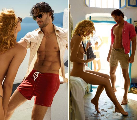 A GQ magazin fotózása a görögországi Santorini szigetén zajlott, több gyönyörű modell közreműködésével.