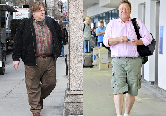 """Sokkal egészségesebbnek is érzi magát John Goodman, amióta elkezdte az edzést és a diétát. """"Végre nem fulladok, amikor néhány lépcsőfokot meg kell másznom"""" - nyilatkozta korábban."""