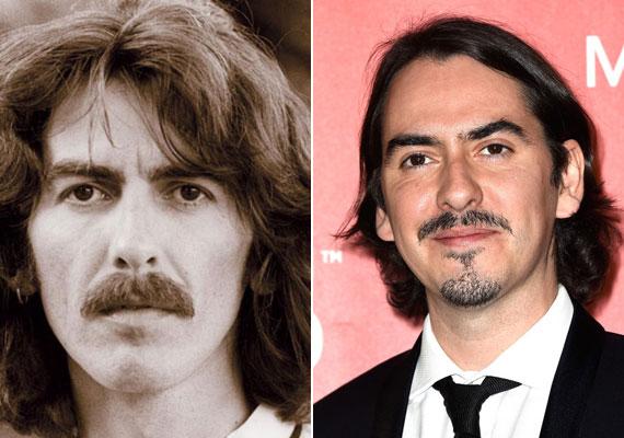 George Harrison és fia, a 37 éves Dhani híres édesapja utolsó lemezén dolgoztak együtt, jelenleg pedig egy alternatív rockbandában zenél.