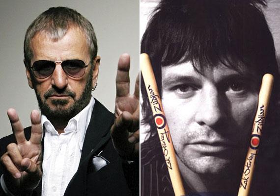 Nem meglepő, hogy az egykori dobos, Ringo Starr fia, az 50 éves Zak Starkey is dobos lett - tíz évesen kezdett önállóan dobolni tanulni.
