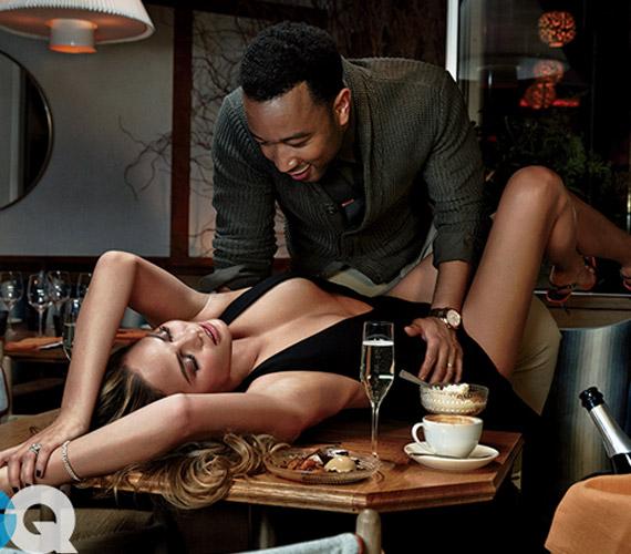 A 29 éves modell és 36 éves férje nagyon élvezte a fotózást, fülledt képek is készültek róluk.