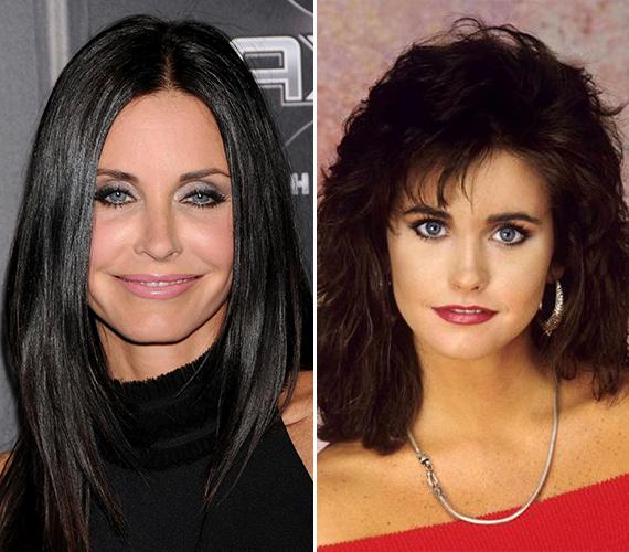 A Jóbarátok 51 éves sztárja, az egykori Monica Geller, vagyis Courteney Cox ma már alig hasonlít fiatalkori önmagára, de ennek sajnos nem a természetes öregedés az oka, hanem a rengeteg botox.