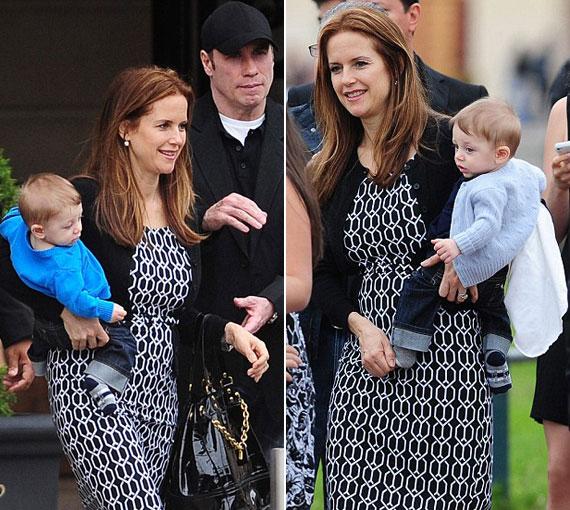 John Travolta 2010. május 18-án jelentette be, hogy felesége harmadik gyereküket várja.