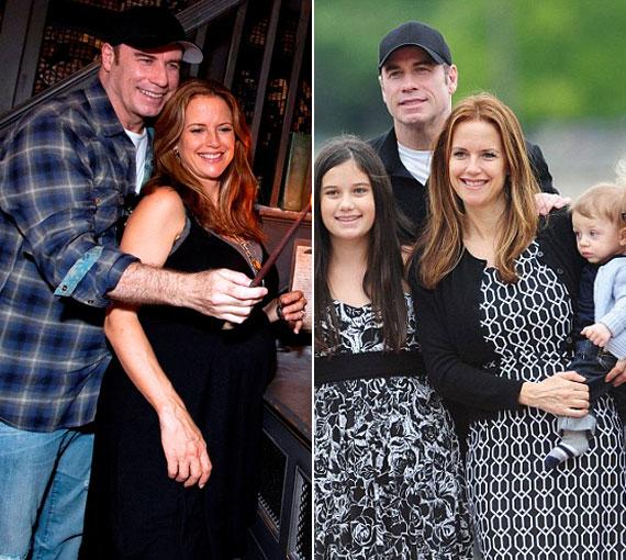 John Travolta 1991-ben vette feleségül Kelly Prestont, akivel a mai napig boldog és harmonikus házasságban él.