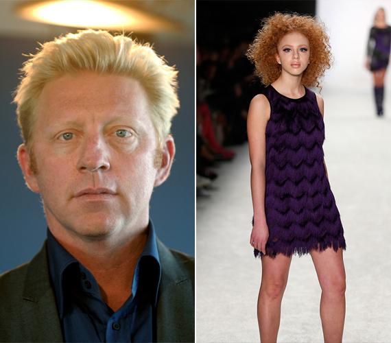 Boris Becker 14 éves lánya, Anna már most a modellkarrier felé kacsintgat. A göndör vörös nagylány januárban lépett először a kifutóra. Édesanyja a modell Angela Ermakova.