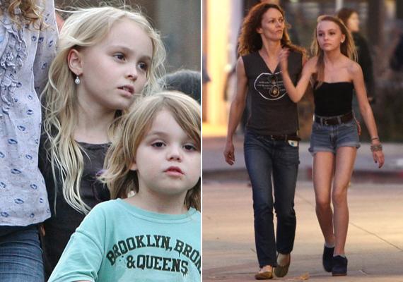 Az 1999-ben született szőke kislány az éves során modellalkatú tinivé cseperedett. Magasságban Vanessa Paradis-t is le fogja hagyni.