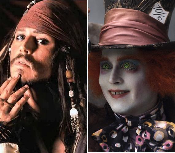 Egyik legemlékezetesebb alakítása Jack Sparrow kapitány A Karib-tenger kalózai trilógiában, a kalandfilm újabb folytatásának forgatása jelenleg folyik. A 2010-es Alice csodaországban című filmben pedig ki mást formálhatott volna meg, mint a bolond kalapost - ennek már le is forgatták a folytatását, 2016 májusában kerül a mozikba.