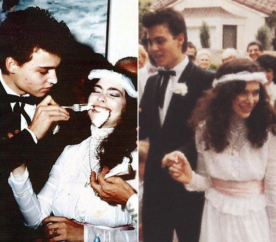 1983-ban Depp mindössze 20 évesen kérte meg első komoly barátnője, Lori Anne Alison kezét, aki sminkesként dolgozott a filmforgatásokon. A lány igent mondott, pedig nem kellett volna. Még ebben az évben elváltak, és a színész új barátnőt talált.