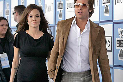 Jolie és Pitt a Film Independent Spirit gálán
