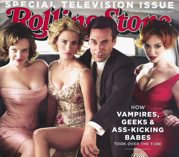 Szexi kolléganőivel, January Jonesszal, Christina Hendricksszel és Elisabeth Moss-szal szerepelt a Rolling Stone magazin különkiadásának címlapján is.