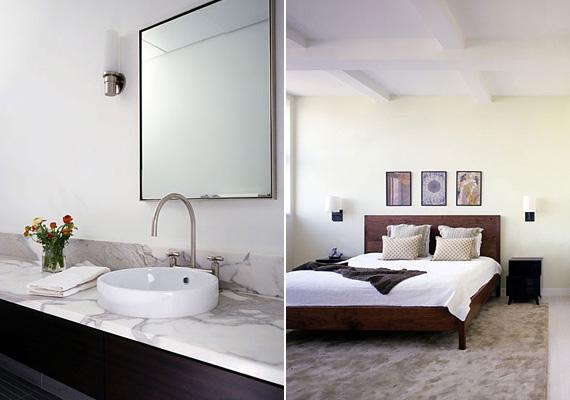 A lakásban négy hálószoba, három fürdőszoba található, valamint egy 55 négyzetméteres terasz az alsóbb szinten, és egy 100 négyzetméteres tetőterasz, ahonnan gyönyörű kilátás nyílik a városra.