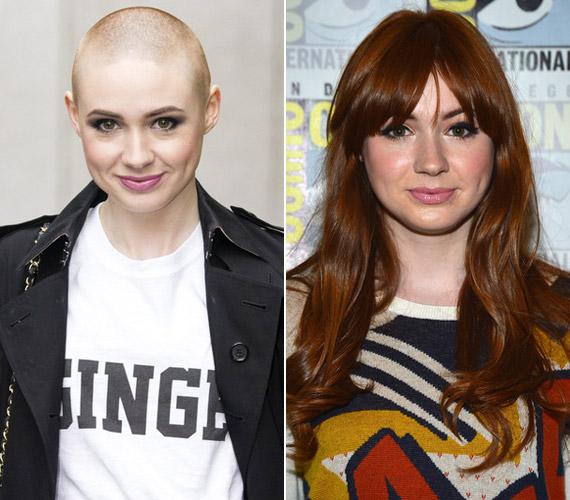 Karen Gillan egy gyors ötlettől vezérelve kopaszra nyíratta a haját, amivel alaposan meglepte rajongóit.