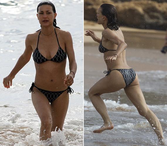 Nem csoda, ha Josh Radnor rajong érte, bikinis Bond-lánynak is beillene.