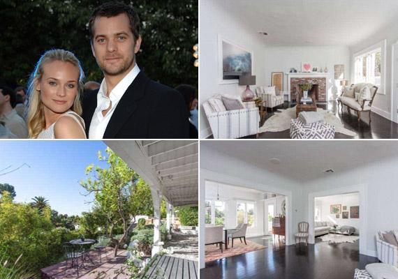 A pár ízlésesen és otthonosan rendezte be a házat, amelyben a fehér szín uralkodik. A tágas belső terek sok fényt kapnak a hívogató kertből.