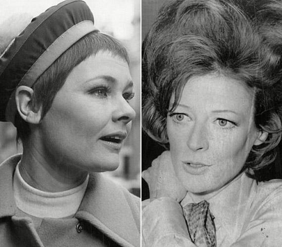 A képek az ötvenes években készültek. A színésznők karrierjük kezdetén találkoztak egymással, azóta pedig elválaszthatatlanok.
