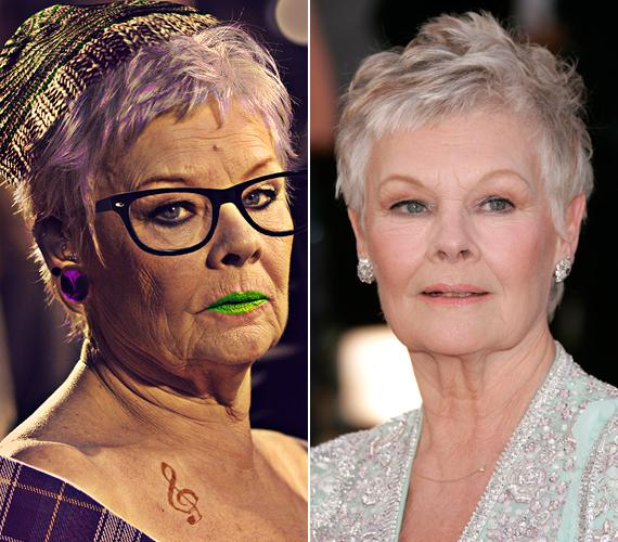 A James Bond-filmek M-je, a 79 éves Judi Dench érdekesen nézne ki hipszterként.